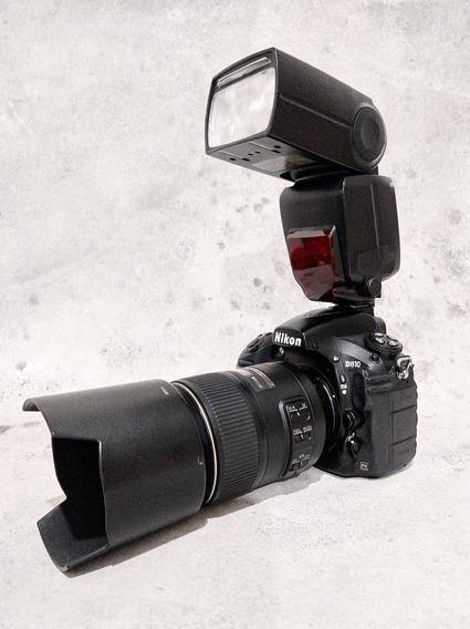 Nikon D810 Body Y Flash De Regalo! 36mpx!! Como Nueva!