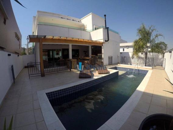 Belíssima Casa Em Condomínio Alto Padrão, Jardim Altos De Santana Ii, Jacareí. - Ca0648