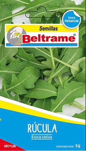 Semillas De Rucula Euruca Sativa Beltrame 5g Huerta