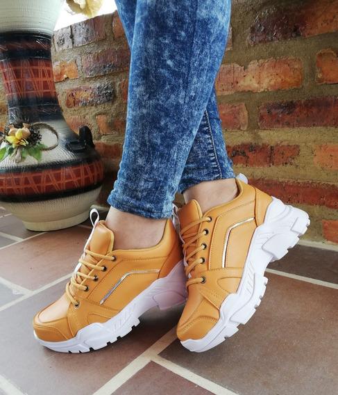Tenis Casual Mujer Zapato Plataforma Mujer Zapato Deportivo