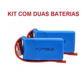 Kit Bat Lipo 2s 7.4v 1100mah Jst Wltoys A949 A959 A969 A979
