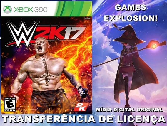 Wwe 2k17 Xbox 360 - Md Transferência De Licença
