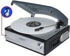 New Boytone Bt-17tbc Turntable W/ Cassette Tape Deck & Headp
