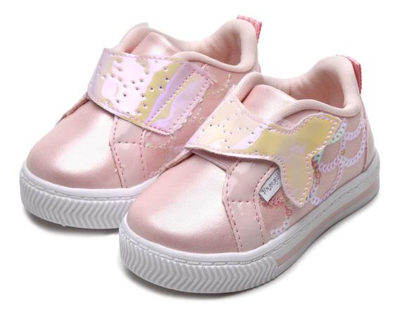 Pampili 476.030 Tênis Infantil Feminino Bebe