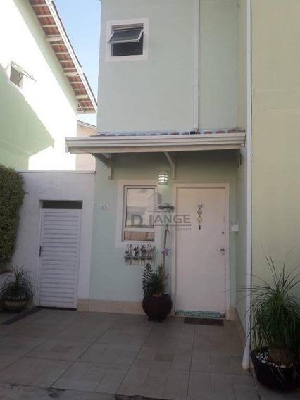 Casa Com 3 Dormitórios À Venda, 75 M² Por R$ 460.000,00 - Parque Jambeiro - Campinas/sp - Ca14263