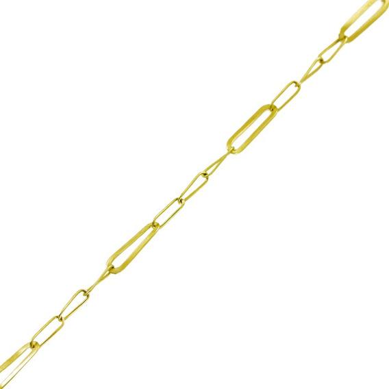 Corrente Ouro 18k 40 Cm 1,6gelos 3 Em 1