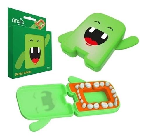 Estojo Porta Dente De Leite Verde Angie