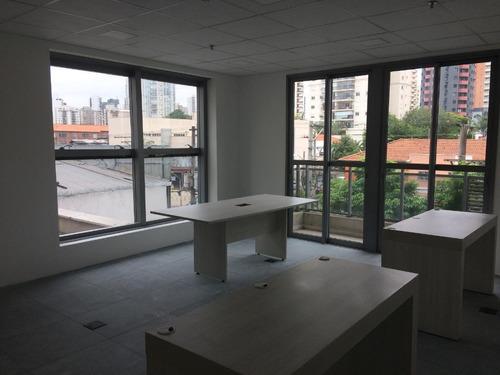 Imagem 1 de 14 de Conjunto À Venda, 37 M² Por R$ 400.000,00 - Brooklin - São Paulo/sp - Cj2061
