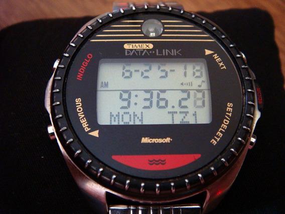 Reloj Timex Data Link. Microsoft. Vintage. Acero Inox.