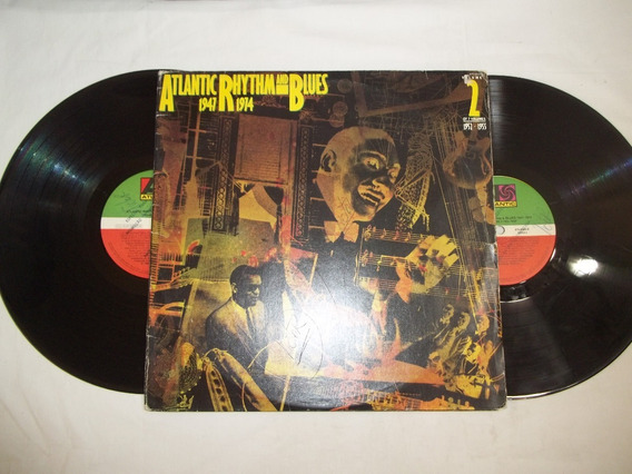 Lp Vinil - Atlantic Rhythm And Blues - 1947 1974 - 2 Discos
