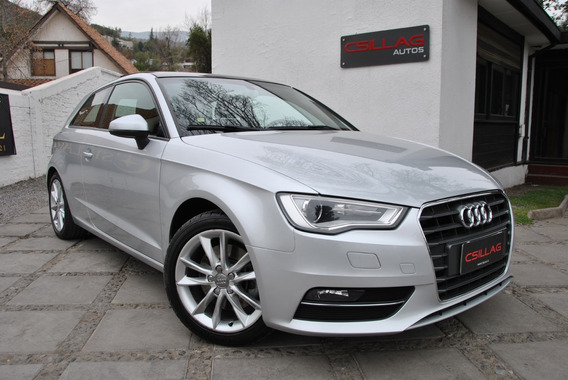Audi A3 1.8 Tfsi Attraction Aut 2014 Sunroof Flamante