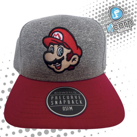 Gorra Cachucha Super Mario Bros Snapback