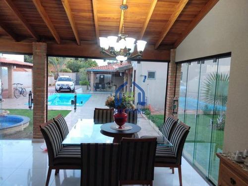 Chácara Com 3 Dormitórios À Venda, 1000 M² Por R$ 900.000 - Ipiguá/sp - Ch0162