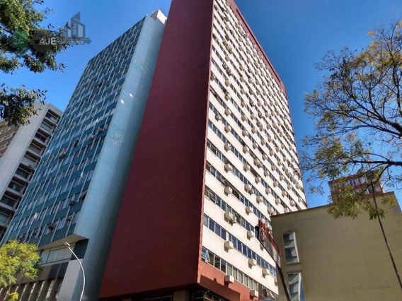 Sala Para Alugar, 27 M² Por R$ 500/mês - Centro - Edifício Arnaldo Thá - Curitiba/pr - Sa0006