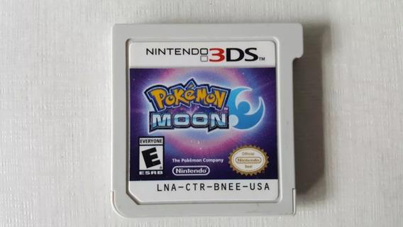 Pokemon Moon - Nintendo 3ds - Original