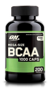 Bcaa 1000 On 200 Caps