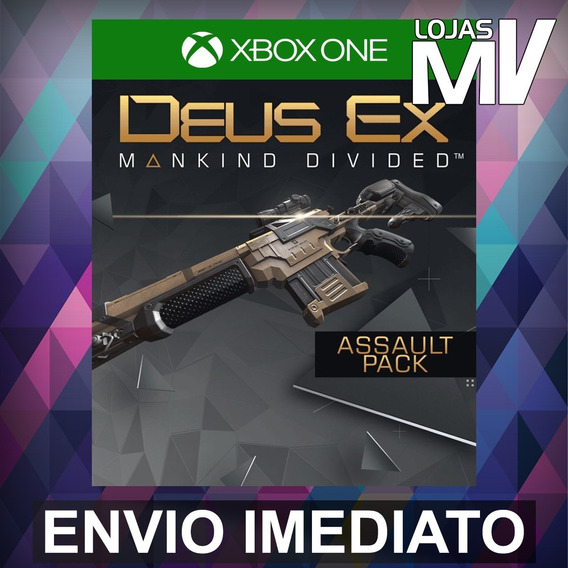 Deus Ex Mankind Divided Assault Pack Xbox One 25 Dígitos