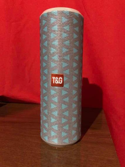 Caixa Som Bluetooth Canhão 10w Rms T&g Tenho Várias Cores