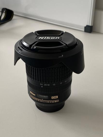 Objetiva Nikkor 10-24mm