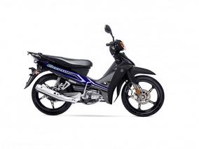 Yamaha T110 Crypton - 0 Km - Negra - Expomoto