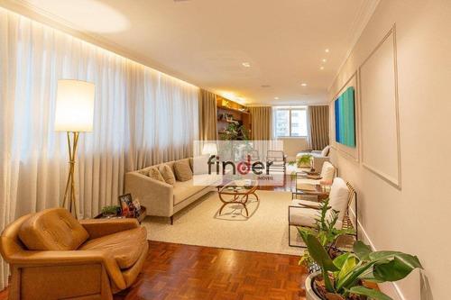 Imagem 1 de 21 de Orleans Na Rua Caconde, 317   Apartamento Reformado, 250 M², 3 Dormitórios, 2 Suítes E 2 Vagas. Jardim Paulista, 1.1 Km Parque Do Ibirapuera - Ap13224