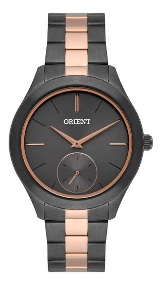 Relógio Orient Feminino Ftss0078 G1gr Grafite Rose Analogico