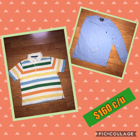 Polo Ralph Lauren, Tommy Hilfigier Camisas Talla 5 Niño