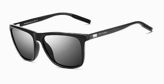 Óculos De Sol Masculino Polarizado Quadrado Veithdia