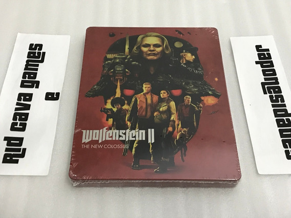 Steelbook Wolfenstein 2: The New Colossus - Sem O Jogo