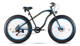 Bicicleta Fat Bike Aurora Bacota 2018 Shimano + Linga Stock