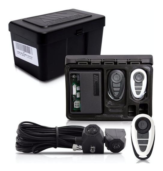 Alarme Automotivo Carro Amx-908 + Capa Branca E Preta