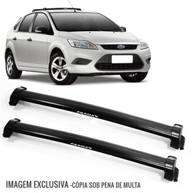 Rack De Teto Bagageiro Focus Hatch/sedan 11 A 13 Preto 6217