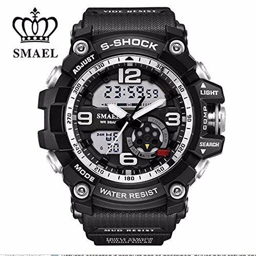 Relógio Militar Smael Original - Pronta Entrega Frete Gratis