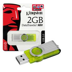Kit 20 Pen Drive Kingston 2gb Usb 2.0 Datatraveler 101 Verde