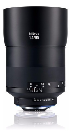 Zeiss Milvus 85mm F/1.4 Zf.2 Lente Para Canon Ef E Nikon F