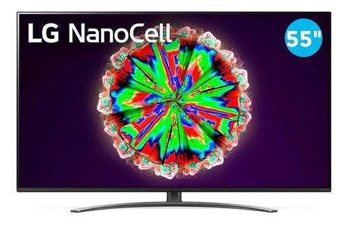 Smart Tv 4k 55  LG Led Uhd 55nano81sna Hdr 4 Hdmi 3 Usb