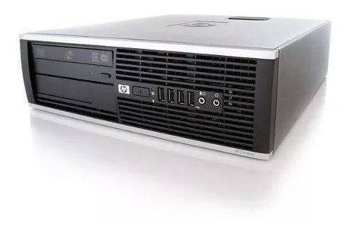Computador Cpu Desktop Hp Core 2 Duo E8400 8 Gb Ssd 120gb Rw