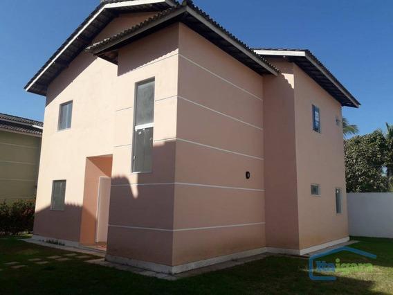 Casa Para Alugar, 170 M² - Praia Do Flamengo - Salvador/ba - Ca0167