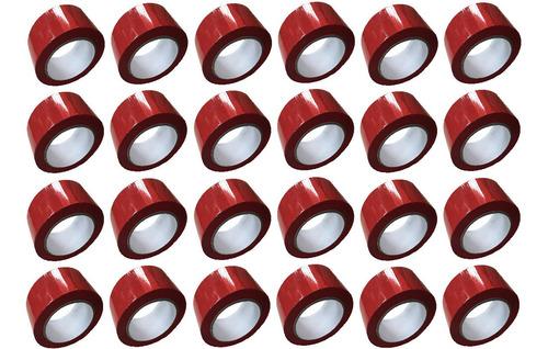 E Cinta Roja Adhesiva X 24 Unidades