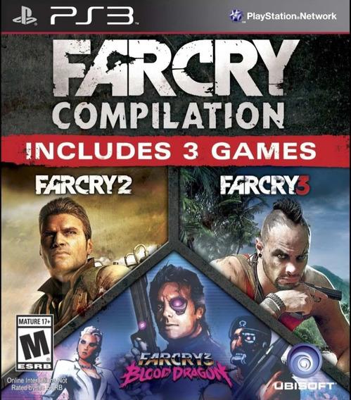Farcry Compilation Ps3 Mídia Física Original