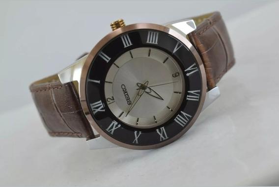 Reloj Vintage Reacondicionado Seiko Mitoya Mov. Nuevo