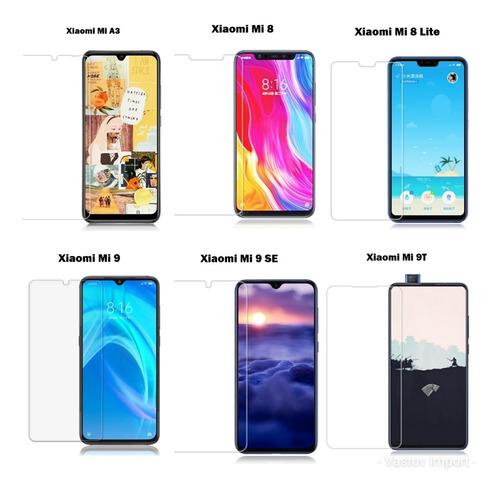 Vidrio Templado Xiaomi Mi A3 Mi 9 9se 9 Lite Mi 8 Mi 8 Lite