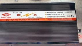 Inversor De Energia Genius Power 1000 Wattis 110vts