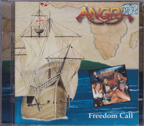 Angra - Cd Freedom Call / Holy Live - 2 Cds - Andre Matos