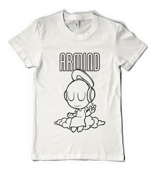 Remera Armin Van Buuren Dj Color Animal