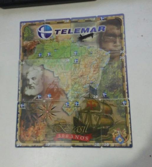 Cartões Telefonicos Telemar Brasil 500 Anos Completo