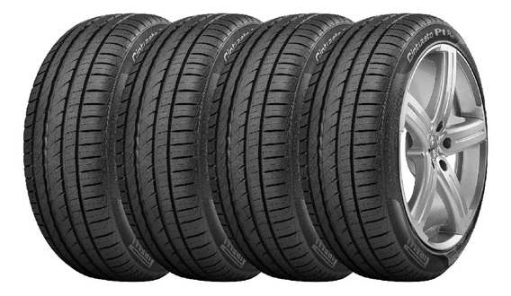 Combo X4 Neumaticos Pirelli 195/55r15 P1cint 85v Cuotas