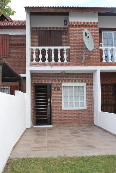 Alquiler Duplex Mar Del Tuyu.3 Cuad Del Mar-ctro/ 7pers/2020