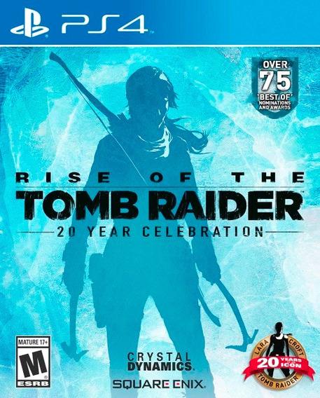 Rise Of The Tomb Raider (mídia Física Em Pt-br) - Ps4 (novo)