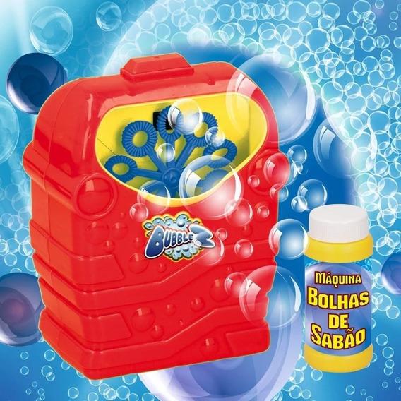 Máquina De Bolhas De Sabão Bubblez Criança Verão Divertido